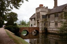 This happens to be the moated manor house of Baddesley Clinton, just north of Warwick.