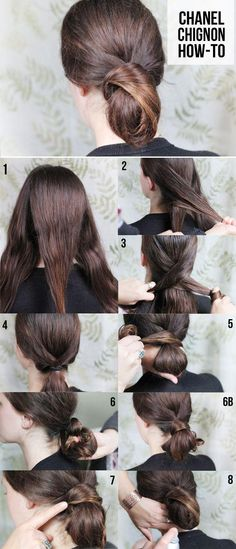 DIY Chanel Chignon + Pearl Bobby Pins - Henry Happened
