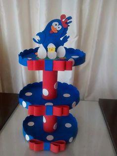 Baleiro Leo Birthday, Birthday Parties, Cowboy Theme Party, Cake And Cupcake Stand, Ideas Para Fiestas, Diy Cake, Craft Items, Craft Tutorials, Art For Kids