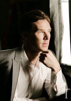 benedict cumberbatch OMG so gorgeous Benedict Sherlock, Benedict Cumberbatch Sherlock, Sherlock Holmes, Stan Lee, Rupert Graves, Marvel, John Watson, Martin Freeman, British Actors