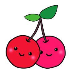 kawaii cherry by atchah on DeviantArt