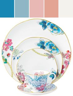 Wedgwood Dinnerware, Butterfly Bloom Collection  Designed By macys via Stylyze