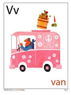 [크리스마스/알파벳/팬시/동물] 스티브 맥(Steve Mack)의 재미있는 크리스마스와 알파벳 카드 Illusted ...