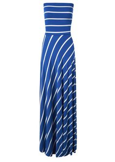 Butter by Nadia  Lolita Gown - Blue Stripe