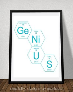 Periodic table sign