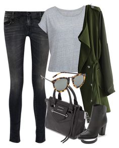 """""""Untitled #2988"""" by glitter-the-world ❤ liked on Polyvore featuring R13, Chicwish, Botkier, Karen Walker and Vince"""