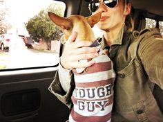 "2,599 Likes, 30 Comments - Katee Sackhoff (@therealkateesackhoff) on Instagram: ""On the way to work with my little #Toughguy #vargas #santafe #longmire #dogsofinsta @rayban…"""