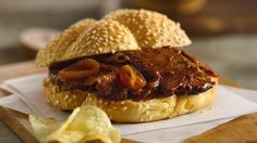 Grill all day? No way!  Get the full flavor of barbecue beef.  It's easy because your slow cooker does all the work.