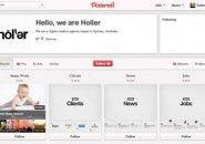 O primeiro site de agência feito inteiramente no Pinterest