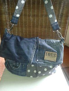 Danke Petra- meine neue Tasche aus Dirks Lieblingsjeans♡