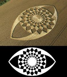 CROP CIRCLES, une géométrie sacrée