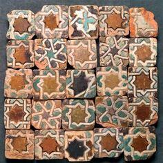 Arabic azulejos in Sevilla
