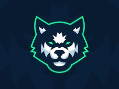 Sport Illustration Team Ideas For 2019 Logo Esport, Typography Logo, Logo Branding, Lobo Tribal, Husky Logo, Dog Logo Design, Sports Team Logos, E Sport, Professional Logo Design