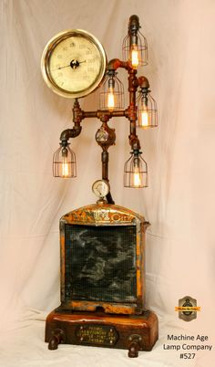 Machine Age Lamps Steampunk Lamps And Lighting