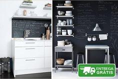 Decore a sua cozinha, espaço comercial, casa de uma forma útil e divertida! Rolo de Vinil tipo ardósia (40 x 200 cm) + oferta de 2 paus de giz, por apenas 13,90€ em vez de 25€. - Descontos Lifecooler