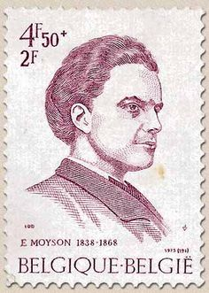 Belgian stamps Solidarity. Emile Moyson