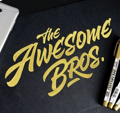 Lettering sketches / 2016 on Behance