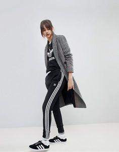 3760be076ac5 Adicolor three stripe track pants by adidas Originals  adidasoriginals  Sweatpants