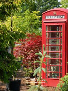 Walker Farm: London phone booth