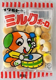 Iwamoto Millk Bolo 30 packages Japanese Famous Junk Food Snack Dagashi -- More info could be found at the image url.Note:It is affiliate link to Amazon.