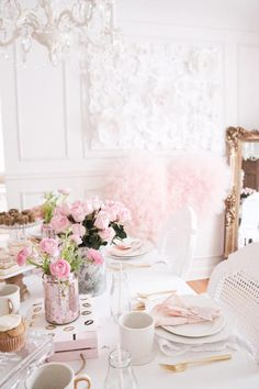 Sweet and Elegant Valentine's Day Party on Kara's Party Ideas | KarasPartyIdeas.com (7)