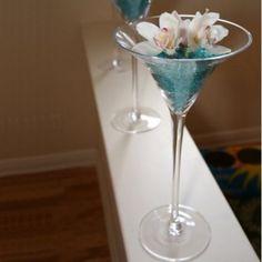 Le vase martini 40cm, 50cm ou 70cm - Place du Mariage
