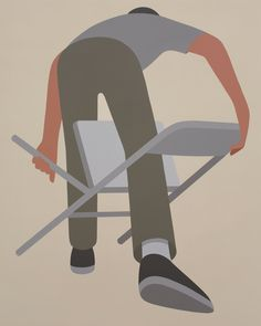 With his now iconic-style and beautifully simple yet poetic paintings, Geoff McFetridge returns to Gallery in Copenhagen from June The Great Discontent, Graphic Design Cv, Geoff Mcfetridge, Abstract Face Art, Digital Painting Tutorials, Simple Illustration, Art Plastique, Cool Artwork, Pattern Art