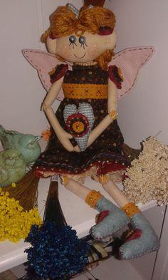 Anjo Lilith vemelho...o anjo das cores