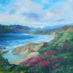 Sue Cervenka Paintings: Sunny Cove