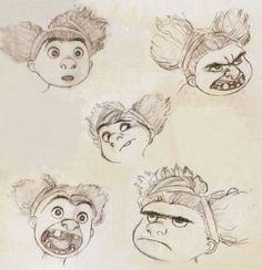 The Croods : Concept Art - Movie Art