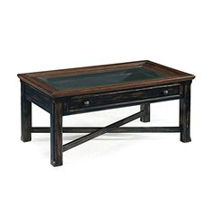 Magnussen Clanton Wood Large Rectangular Cocktail Table