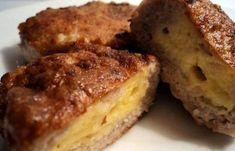 Рецепт Зразы с мясом и сыром Банановый Хлеб, Французский Тост, Маффин, Мясо, Завтрак, Десерты, Рецепты, Еда