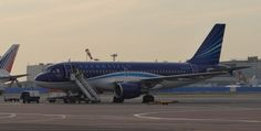 An Azerbaijan Airlines Airbus Moscow is a great place to spot airliners from all the former Soviet republics Azerbaijan Airlines, European Airlines, Moscow, Photo Galleries
