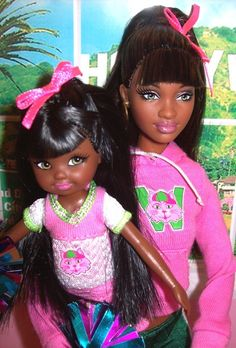 Grace and Courtney dolls