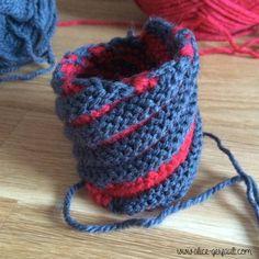 Tawashi, éponge au tricot
