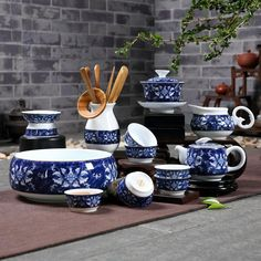 Careful Miniature Dollhouse Dinnerware Porcelain Tea Set Tableware Cup Plate Colorful Floral Print 6pcs Easy To Lubricate Toys & Hobbies