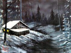Winter Night ~ Bob Ross