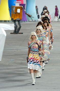Défilé Chanel Prêt-à-porter Printemps-été 2014