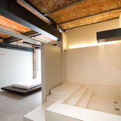 48 besten industrial style bilder auf pinterest innenarchitektur industriedesign und ziegel. Black Bedroom Furniture Sets. Home Design Ideas