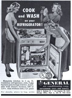 COOK and WASH on your REFRIGERATOR! | Modern Mechanix   /;)
