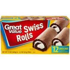 Great Value Swiss Rolls Snack Cakes