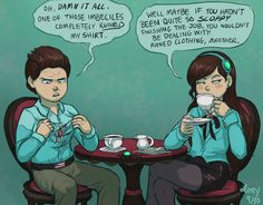 ImageFind images and videos about gravity falls, mabel and dipper on We Heart It - the app to get lost in what you love. Reverse Gravity Falls, Gravity Falls Au, Reverse Falls, Dipper Pines, Dipper And Mabel, Pinecest, Dipcifica, Billdip, Akira