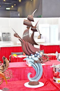 THIS IS HOW I WAS THINKING OF INCORPORATING MY RIBBONS!! @vcm1130 chocolate ship