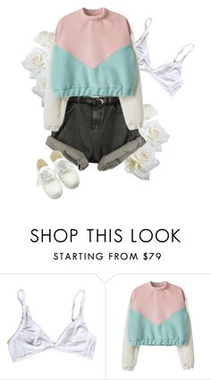 """""""pastel, baby"""" by nymphet-dream ❤ liked on Polyvore featuring vintage"""