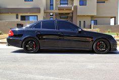Mercedes e55 amg blacked out teamspeed mb pinterest mercedes benz w211 e55 amg renntech shadowline sciox Gallery