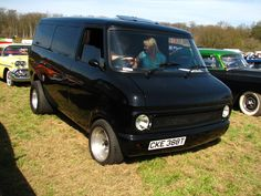 Bedford CF by smevcars on deviantART| (Looks Like A 1968 Chevy Van) Right-Hand-Drive...