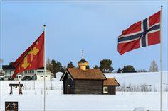 https://flic.kr/s/aHsksnpPs2   Stiklestad- Norway   Stiklestad is the battlefield where King Olav Haraldsson fell 29. July 1030, and he became known as St. Olav.