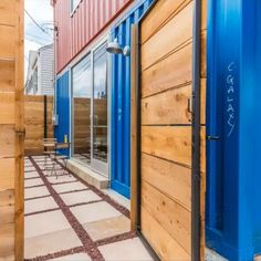 FORT WORTH SHIPPING CONTAINER HOME