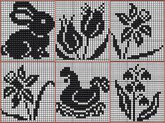 Folk patterns - Majida Awashreh - Álbuns da web do Picasa Cross Stitch Pillow, Mini Cross Stitch, Cross Stitch Alphabet, Cross Stitch Animals, Filet Crochet Charts, Crochet Cross, Crochet Diagram, Knitting Charts, Cross Stitching