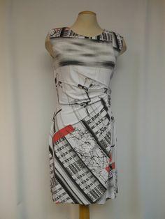 Tango Mango Dress - graphic pattern